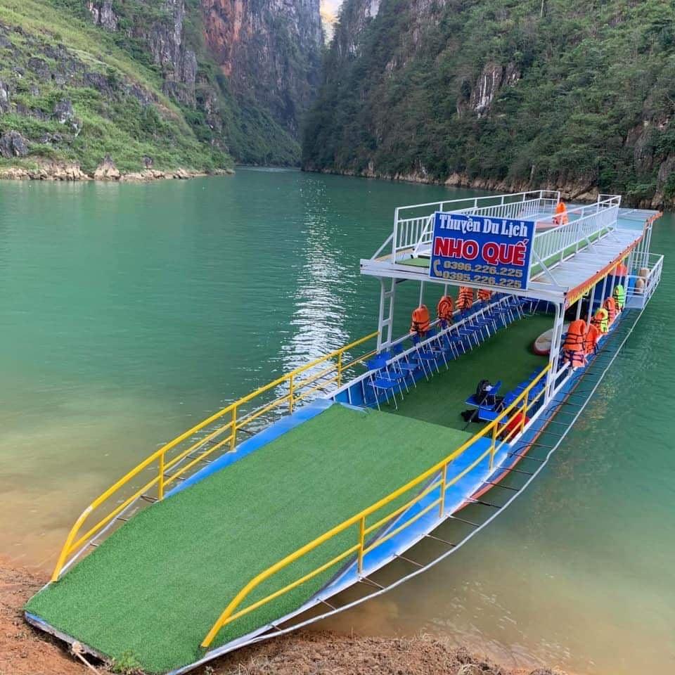 Cách đi xuống Bến Thuyền Sông Nho Quế